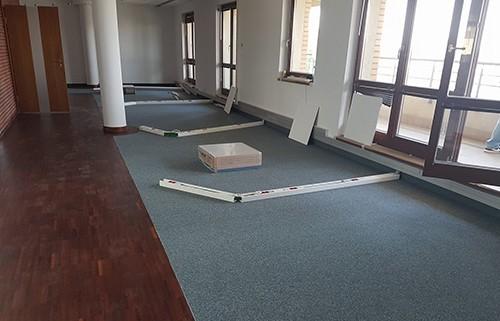 Wykładzina dywanowa - montaż