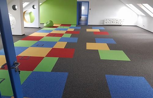 Wykładziny dywanowe w płytce